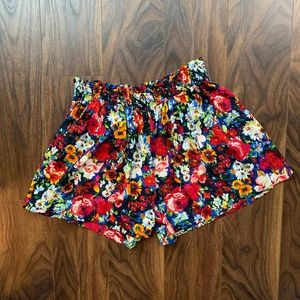Silk, floral shorts (Alice+Olivia, 4)